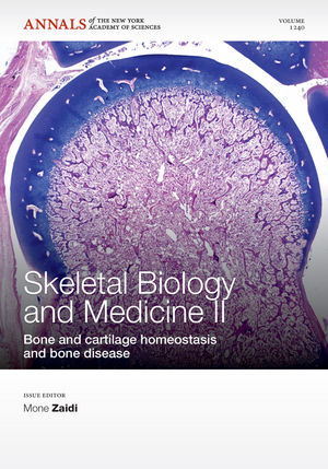 Skeletal Biology and Medicine II: Bone and cartilage homeostasis and bone disease, Volume 1240 (1573318566) cover image