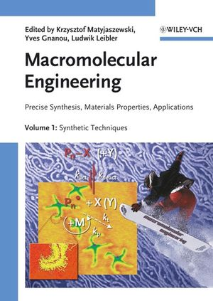 Macromolecular Engineering: Precise Synthesis, Materials Properties, Applications, 4 Volume Set (3527314466) cover image