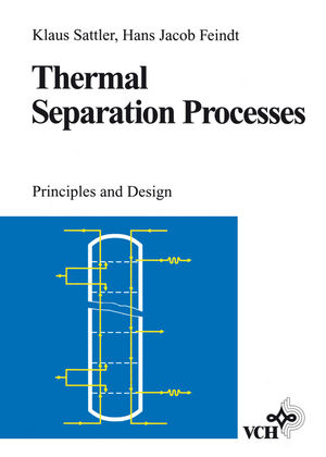 Thermal Separation Processes: Principles and Design (3527615466) cover image