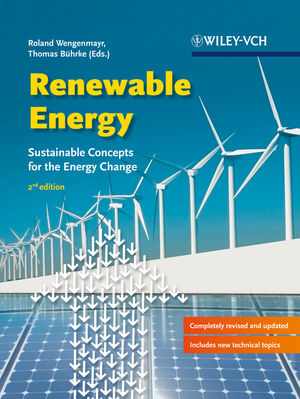 Renewable Energy: Sustainable Energy Concepts for the Energy Change, 2nd Edition (3527671366) cover image