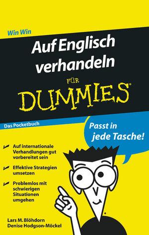 Auf Englisch verhandeln fur Dummies Das Pocketbuch