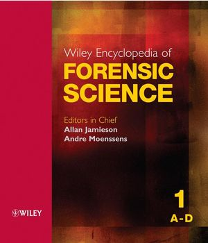 Wiley Encyclopedia of Forensic Science (0470018267) cover image