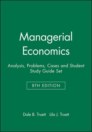 Managerial Economics: Analysis, Problems, Cases 8e & Student Study Guide Set