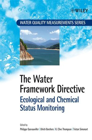 The Water Framework Directive: Ecological and Chemical Status Monitoring (0470518367) cover image