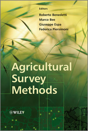 Agricultural Survey Methods (0470665467) cover image