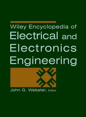 Wiley Encyclopedia of Electrical and Electronics Engineering, 24 Volume Set (0471139467) cover image