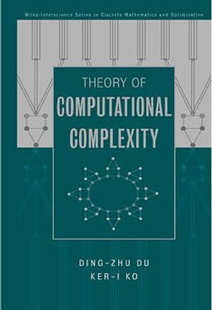 Theory of Computational Complexity (0471345067) cover image