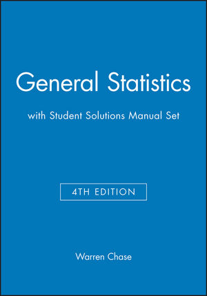 General Statistics 4e with Student Solutions Manual Set