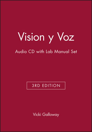 Vision y Voz, 3e Audio CD with Lab Manual Set