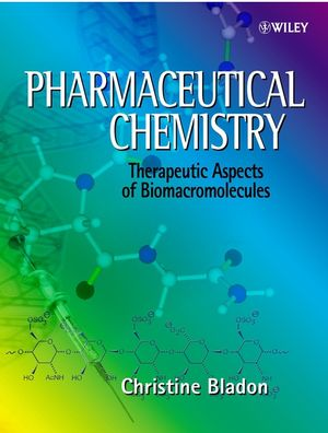 Pharmaceutical Chemistry: Therapeutic Aspects of Biomacromolecules  (0471496367) cover image