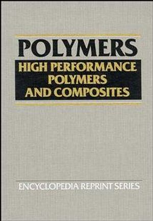 High Performance Polymers and Composites (0471543667) cover image