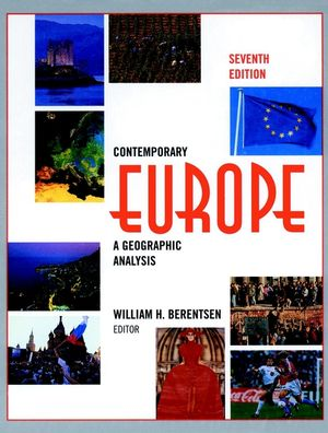 Contemporary Europe: A Geographic Analysis, 7th Edition (0471583367) cover image