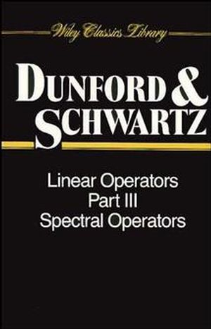 Linear Operators, Part 3: Spectral Operators