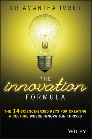 The Innovation Formula: The 14 Science-Based Keys for Creating a Culture Where Innovation Thrives (0730326667) cover image