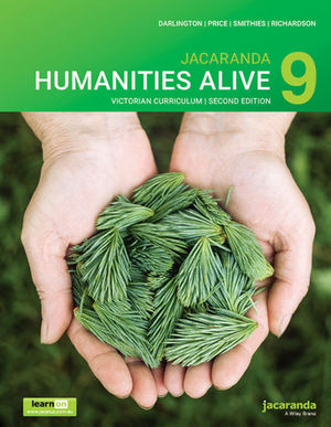 Jacaranda <span class='search-highlight'>Humanities</span> Alive 9 Victorian Curriculum, 2nd Edition learnON and Print