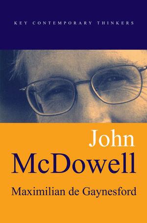 John McDowell (0745630367) cover image