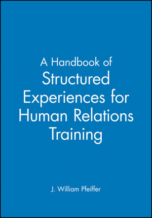 A Handbook of Structured Experiences for <span class='search-highlight'>Human</span> Relations <span class='search-highlight'>Training</span>, Volume 6