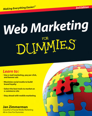 Web Marketing For Dummies, 3rd Edition (1118050967) cover image