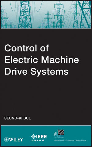 Control of Electric Machine Drive Systems (1118099567) cover image