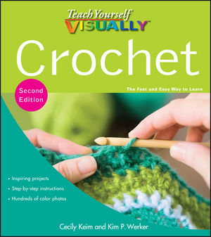 Teach Yourself VISUALLY Crochet, 2nd Edition (1118153367) cover image