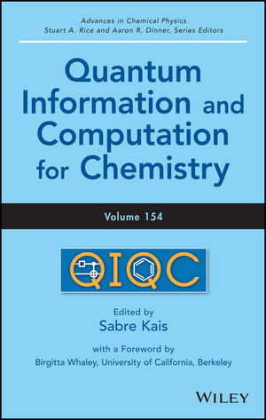 Quantum Information and Computation for Chemistry, Volume 154 (1118495667) cover image