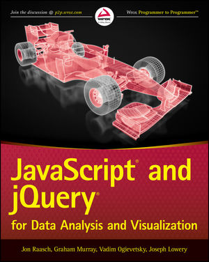 JavaScript and jQuery for Data Analysis and Visualization (1118847067) cover image