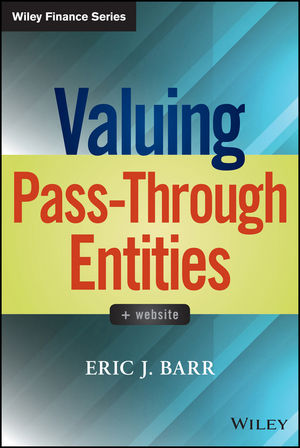 Valuing Pass-Through Entities
