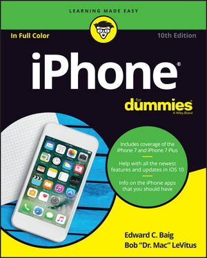 iPhone For Dummies, 10th Edition (1119283167) cover image