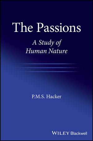 The Passions: A Study of Human Nature (1119440467) cover image
