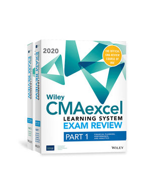 Wiley CMAexcel Learning System Exam Review 2020: Complete Set (2-year access)