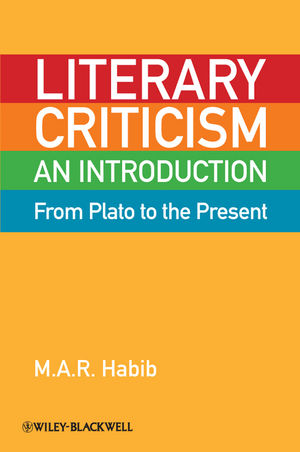 Literary Criticism from Plato to the Present: An Introduction (1444351567) cover image