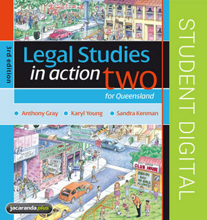 Legal Studies in Action for Queensland 2 eBookPlus (Online Purchase), 3rd Edition