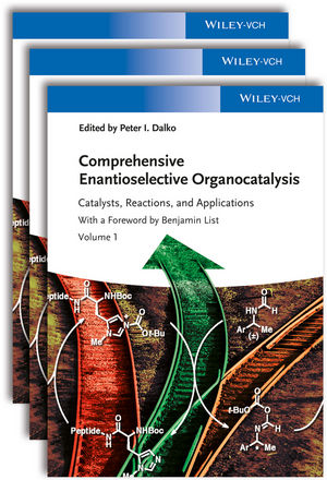 Comprehensive Enantioselective Organocatalysis: Catalysts, Reactions, and Applications, 3 Volume Set (3527332367) cover image