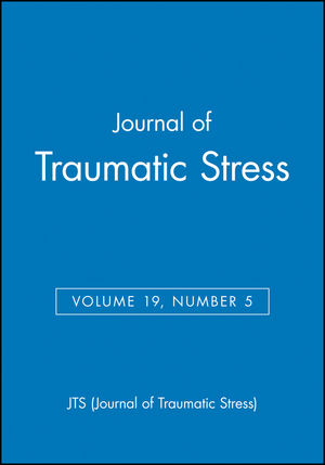 Journal of Traumatic Stress, Volume 19, Number 5