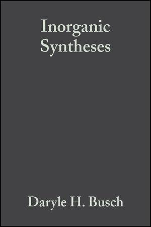Inorganic Syntheses, Volume 20