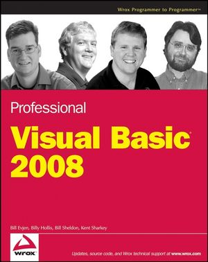 Professional Visual Basic 2008 (0470191368) cover image