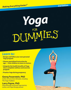 Yoga For Dummies, 2nd Edition (0470630868) cover image