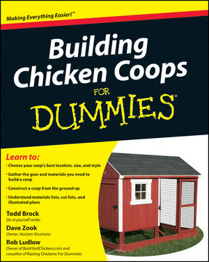 Building Chicken Coops For Dummies (0470882468) cover image