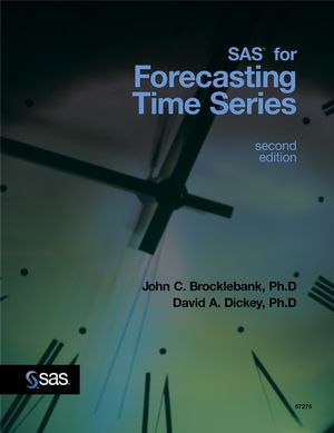 SAS for Forecasting Time Series, 2nd Edition