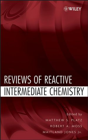 Reviews of Reactive Intermediate Chemistry (0471731668) cover image