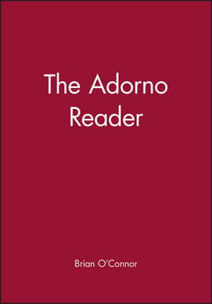 The Adorno Reader (0631210768) cover image