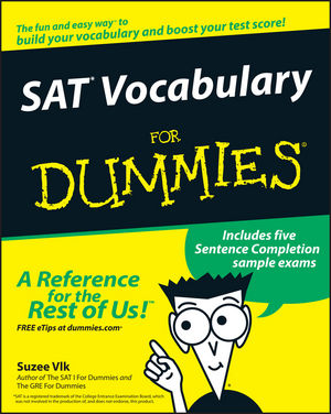 SAT Vocabulary For Dummies