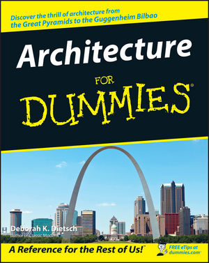 Architecture For Dummies (0764553968) cover image