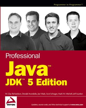 Professional Java, JDK 5 Edition (0764574868) cover image