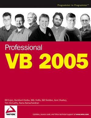 Professional VB 2005 (0764575368) cover image