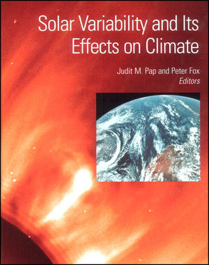 Solar Variability and Its Effect on Climate, Volume 141 (0875904068) cover image