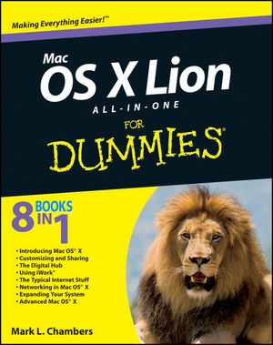 Mac OS X Lion All-in-One For Dummies (1118022068) cover image