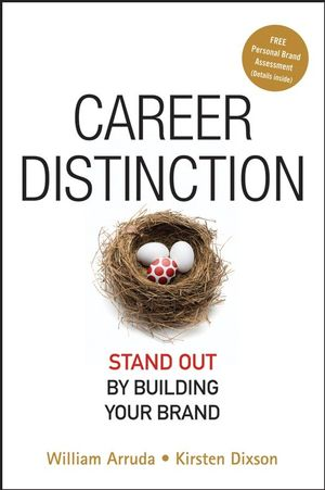 Career Distinction: Stand Out by Building Your Brand (1118045068) cover image