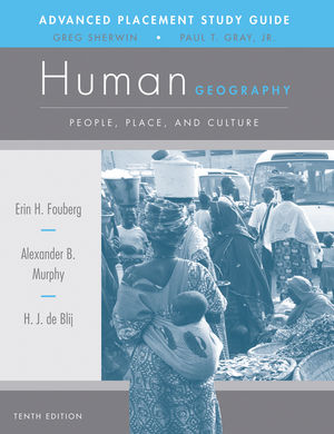 AP Study Guide to accompany Human Geography: People, Place, and Culture, 10th Edition (1118166868) cover image