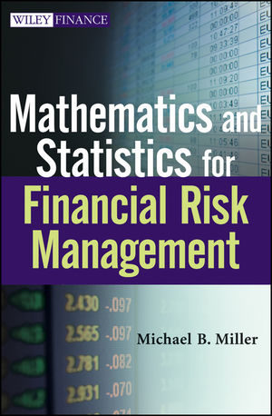 Mathematics and Statistics for Financial Risk Management (1118239768) cover image